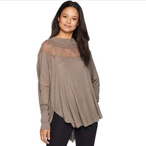NWT Free People Spring Valley Thermal Tunic Top